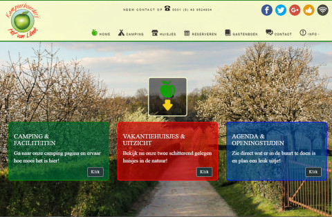 website van Hof van Libeek in Libeek Limburg